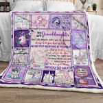 Love My Unicorn Granddaughter, Mom Mom Sofa Throw Blanket