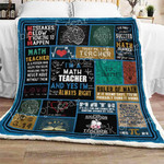 Math Teacher Sofa Throw Blanket CTN43