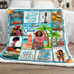 Black Women On The Beach Blanket CT02