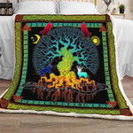 Yggdrasil Sofa Throw Blanket NH16