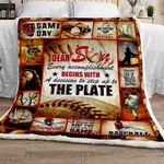 Eat.Sleep.Baseball Sofa Throw Blanket TTL199