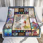 Yoga - And I Think To Myself What A Wonderful World Sofa Throw Blanket