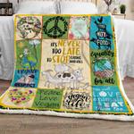 Vegan Sofa Throw Blanket NP280