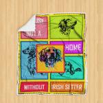 Without Irish Setter - Blanket R147