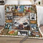 Moo Moo Cow Sofa Throw Blanket SHB95