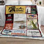 Time To Fishing Sofa Throw Blanket TT224