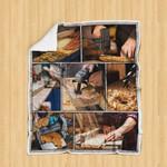 Modern Woodworking Blanket P134