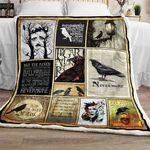 The Raven, Nevermore Sofa  Blanket