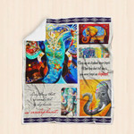 Painting Bohemian Elephant Blanket P138