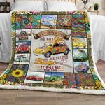 The Girl Who Loved Bugs Sofa Throw Blanket