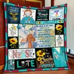 Our Job Is To Love People Nurse Quilt Blanket