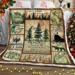 Memories Made In The Mountain Stay In Our Heart Forever Sofa Throw Blanket