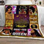 I Am A July Girl Sofa Throw Blanket TT148m7