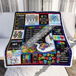 Always Remember You Are Awesome Unique Talented Important Special Mysterious, Autism  Blanket