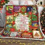 In This Louisiana House, Christmas Sofa Throw Blanket