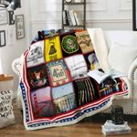 Proud To Be An American Sofa Throw Blanket P465