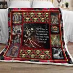 Skull Couple Sofa Throw Blanket TH737