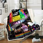 Elements Of LGBT Sofa Throw Blanket
