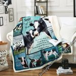 Never Forget That I'll Always Be With You, Cow Sofa Throw Blanket