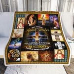Lion. A Child Of God. My God That Is Who You Are Sofa Throw Blanket