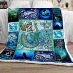 Mermaid Sofa Throw Blanket NH34