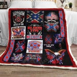 Old Dixie Pride Sofa Throw Blanket TH722