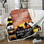My Man, My Biker - Motorcycle Sofa Throw Blanket