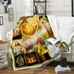 Jesus, The Way, The Truth, The Life Sofa Throw Blanket DNL1613