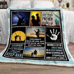 You Are Not The Step Father Sofa Throw Blanket P419