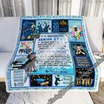 To My Daughter, Your Senior Year Is Ending, Love Mom  Sofa Throw Blanket MLH762