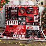 Delta Sigma Theta  Sofa Throw Blanket