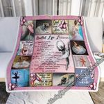 Ballet Life Lessons Sofa Throw Blanket SHB76