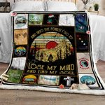 My Soul Is In The Forest Camping Sofa Throw Blanket
