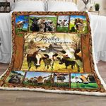 Together Is My Favorite Place To Be - Cow Sofa Throw Blanket