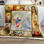 Jesus Sofa Throw Blanket NP344