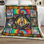 Hippie Girl Sofa Throw Blanket TH683