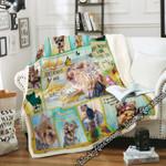 Love Yorkshire Terrier Sofa Throw Blanket