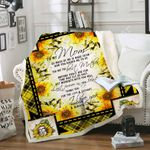 To my mom Sofa Throw Blanket TH538