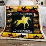Horse Sofa Throw Blanket DK448