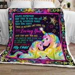 Unicorn Sofa Throw Blanket TH727