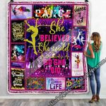 She Believed She Could So She Did, Dance Sofa Throw Blanket
