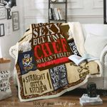 Born To Be A Cheft Sofa Throw Blanket D327