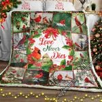 Love Never Dies, Cardinals Sofa Throw Blanket NH260
