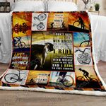Cycling Has Changed My Life Sofa Throw Blanket NH110