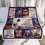 You Can Be The Man, To My Grandson,  Love Nana, Wrestling    Sofa Throw Blanket