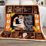Leukemia Warrior Sofa Throw Blanket