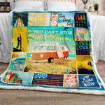 Love Surfing Sofa Throw Blanket NP288