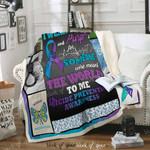 Suicide Awareness Sofa Throw Blanket D259