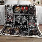 Husband and Wife Together For Life Sofa Throw Blanket