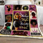 The Thicker The Thighs The Sweeter The Prize Sofa Throw Blanket NP148